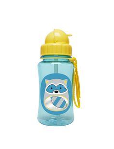 Hop Skip Zoo Straw Bottle, $14