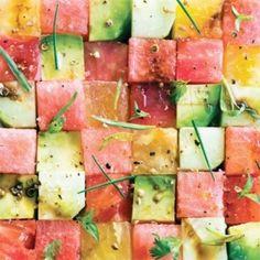 avocado & watermelon