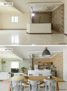 Home Renovation before and after Our Cairo Home livingroom ©BintiHome