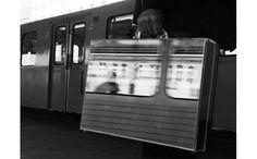 the mirror suitcase man by RUI CALCADA BASTOS