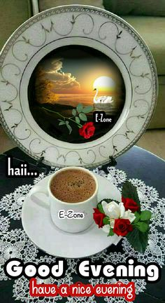 Good Evening Messages, Gd, Good Night, Decorative Plates, Nice, Home Decor, Nighty Night, Decoration Home, Room Decor