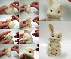with polymer clay. Cake Topper Tutorial, Fondant Tutorial, Cake Toppers, Fondant Figures, Clay Figures, Fondant Animals, Polymer Clay Animals, Clay Ornaments, Felting Tutorials