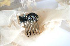 costume jewelry hair comb