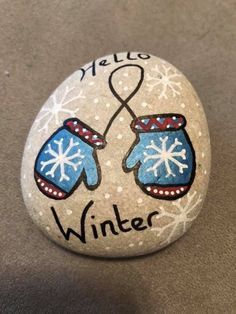 Home decoration is one of the most important elements that help you to define the… Christmas Rock, Christmas Hearts, Christmas Ornaments, Stone Crafts, Rock Crafts, Arts And Crafts, Stone Drawing, Painted Rocks, Hand Painted