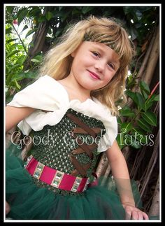 LITTLE BUT FIERCE Zarina the Pirate Fairy by goodygoodytutus