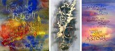 Artworks Featuring the Professional Calligraphy of Peter Taylor