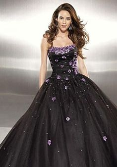 appliques,beading strapless ball gown sleeveless prom dress
