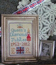 Queen's Diamond Jubilee Sampler - Cross Stitch Pattern