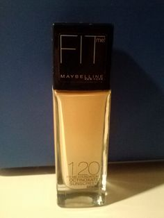Maybelline Fit Me Makeup Foundation Sunscreen Protection Color 120 Classic Ivory #Maybelline