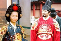 """Dae Jang Geum(Hangul:대장금;hanja:大長今;RR:Dae Jang-geum;MR:Tae Chang-gǔm; literally """"The Great Jang-geum""""), also known asJewel in the Palace, is a 2003 Korean television series.StarringLee Young-aein the title role, it tells the tale of an orphaned kitchen cook who went on to become the king's first female physician. Dae Jang Geum, Kitchen Cook, Lee Young, Korean Dress, Period Dramas, Korean Actresses, Kdrama, Palace, Medicine"""