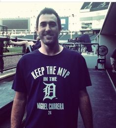 Justin Verlander can predict the future. Not that it's hard when a guy wins the first Triple Crown in 45 years, but still.