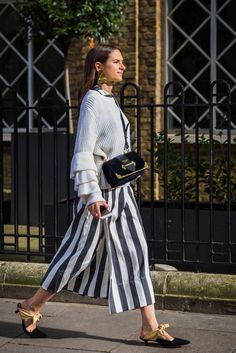 Stripes are always a staple. Pull yours out and style them any way you please.               Image Source: ...