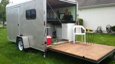This Cargo Trailer Converted to Homey, Cozy, Off-Grid RV is a guest post by Elizabeth Kelch One trend in the tiny living movement is converted cargo trailers. The advantages to this are; they&#8217…