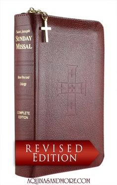 Advent 2011 St. Joseph SUNDAY Missal -- zippered closure, $38.95 + shipping