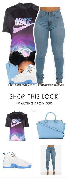 """""""nike"""" by trinityannetrinity ❤ liked on Polyvore featuring NIKE and MICHAEL Michael Kors"""