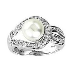 pearl rings - Google Search