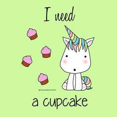 i need a cupcake...