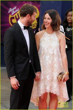 Jamie Dornan & Wife Amelia Warner Hold Hands & Look Cute Together at TV Baftas 2014