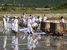 The beautiful salt works of Ston! Croatia