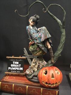 WonFes17 3d Character, Character Concept, Character Design, Polymer Clay Sculptures, Miniature Figurines, Fantasy Miniatures, 3d Prints, Anime Figures, Sculpture Art
