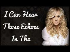 See You Again~ Carrie Underwood...one of the best songs she has made Love it!