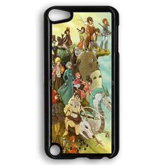 Studio Ghibli Characters iPod Touch 5 Case