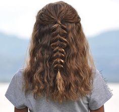 Catchy braided hairstyle ideas for the girls who are short-Eingängige umsponnene Frisur-Ideen für die Mädchen, die kurzes Haar haben – Frisuren, Catchy braided hairstyle ideas for the girls who have short hair – Hairstyles, # catchy # for - Medium Curly, Medium Hair Styles, Curly Hair Styles, Pretty Hairstyles, Braided Hairstyles, Hairstyle Ideas, Teenage Hairstyles, School Hairstyles, Toddler Hairstyles