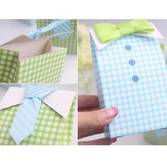 2016 20 pcs My Little Man Blue Green Bow Tie Birthday Boy Baby Shower Favor Candy Treat Bag Wedding Favors Candy Box Gift Bag