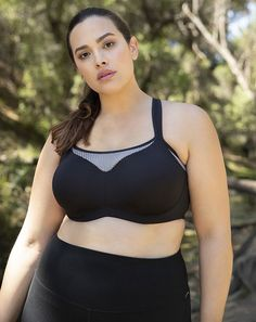 edd3f33afb Curvy Sports Bras for the New Year - Lingerie Briefs ~ by Ellen Lewis https