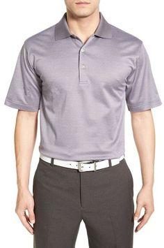 Peter Millar Hazel Jacquard Polo Shirt