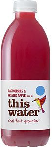 This Water Real Fruit Quencher Raspberries