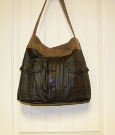 Recycle YOUR OWN Leather Jacket into a Beautiful by OregonLynne