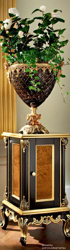 Romantic, luxury Classical home accents. Old World decorating. shop DesignNashville.com