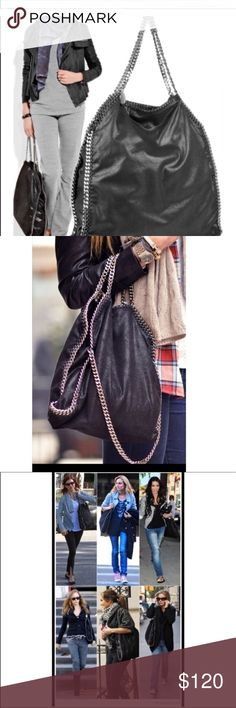 Purse chair straps Stella inspired bag with same measurement Stella McCartney Bags Shoulder Bags