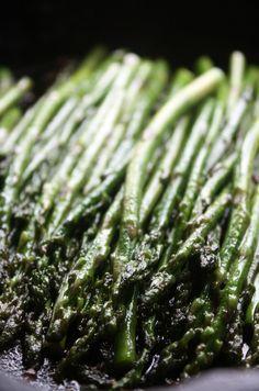 Garlic Sauteed Asparagus