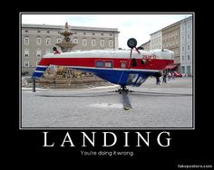 Actually if you were somehow also able to takeoff from that position, that would be epic win.