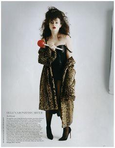 Helena Bonham Carter by Tim Walker.