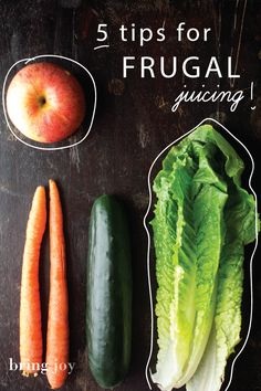 5 tips for frugal juicing — you can reap the benefits of juicing, even if you're on a tight budget // bring-joy Healthy Juices, Healthy Smoothies, Healthy Drinks, Healthy Eating, Simple Smoothies, Yogurt Smoothies, Juice Smoothie, Smoothie Drinks, Smoothie Recipes