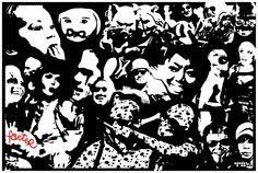 """T E A - TEDDY : EIGELB : ART — """"STREET ART WARS II"""" Copenhagen Denmark, Street Art, War, Egg Yolks"""