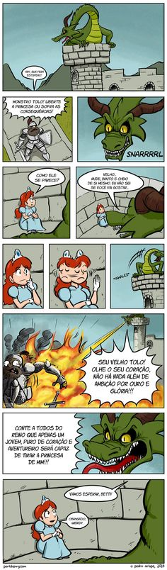 Now it all makes sense! Saving the Princess from an Evil Dragon [COmic] – Geeks … Now it all makes sense! Saving the Princess from an Evil Dragon [COmic] – Geeks are Sexy Technology NewsGeeks are Sexy Technology News Beste Comics, Dragon Comic, Funny Dragon, Cartoon Dragon, Funny Comics, Funny Cartoons, Disney Cartoons, Funny Cute, Super Funny