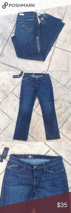 NWT Rock & Republic jeans, Sadie New with tags, Sadie jeans, straight legs Rock & Republic Jeans Straight Leg