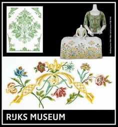 click here to view larger image of Wedding Dress (2 Designs) - Rijks Museum Catwalk (counted cross stitch kit)
