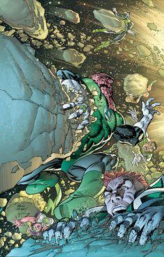 Green Lanterns by Adam Kubert
