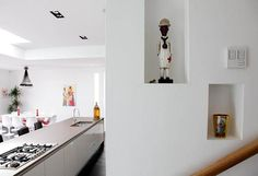 Check out these fabulous trendy house design photos gallery of a gorgeous eclectic home tour interior decorating ideas located in London, UK photographed by first choice agency. The family has customized each space interior with an uncommon luxury vibe and color concept of its own.