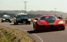 Koenigsegg Police Chase Need For Speed Movie