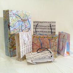 How to make paper gift bags while recycling paper!!!