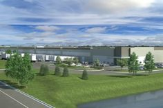 The Opus Group and USAA Real Estate Co. Start Construction on SF Speculative Industrial Building Real Estate Business, Real Estate News, Commercial Real Estate, Golf Courses, Industrial, Construction, Group, City, Building