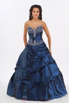Sweetheart Navy Quinceanera Dress Sweet Sixteen Dress  P1462 Quinceanera Dress