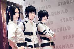 Knights Of Sidonia Izana Shinatose (科戸瀬 イザナ) : YUEGENE FAY Nagate Tanikaze (谷風 長道):Kaname Captain Kobayashi (小林艦長):Reika