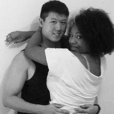 Interracial love #ambw #bwam